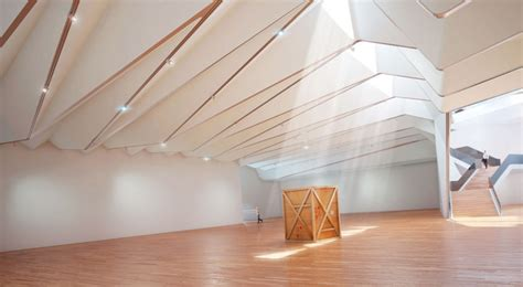 ceilings and lighting for painting exhibition hall interior on the drawing board v a exhibition road quarter by