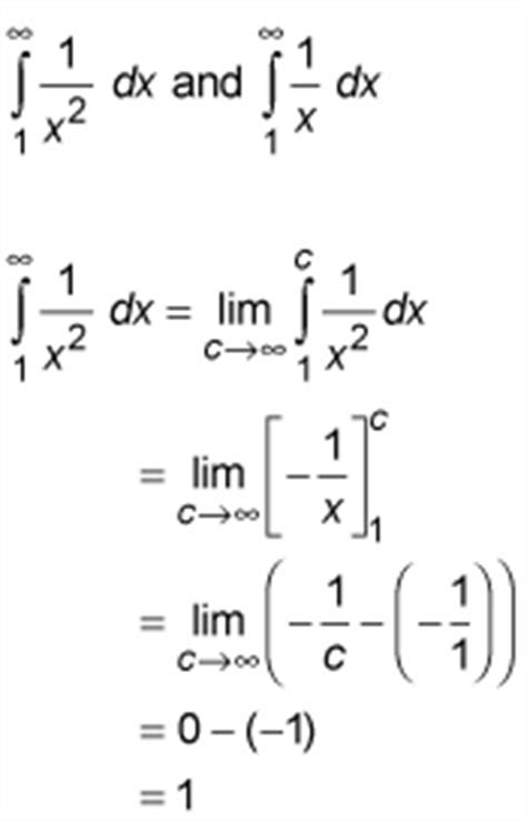 integrating to infinity how to solve improper integrals that one or two