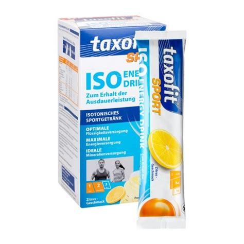 taxofit sport iso energy drink zitrus nu3