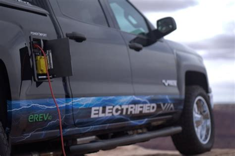electric pickup truck via s plug in hybrid trucks will sell 50 000 a year by
