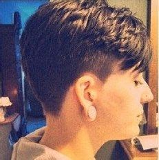 ultra short hairstyles nape cut pin by womens short hair styles on short and tapered