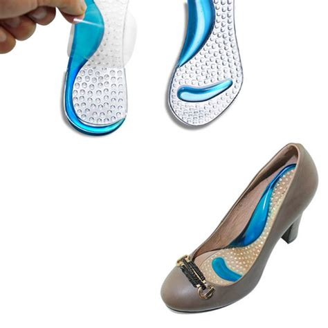 best shoe pads for high heels silicone gel shoes pads soft sandals insole high heel arch