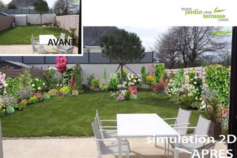 Paysager Un Petit Jardin by Monjardin Materrasse Mon Jardin Ma Terrasse