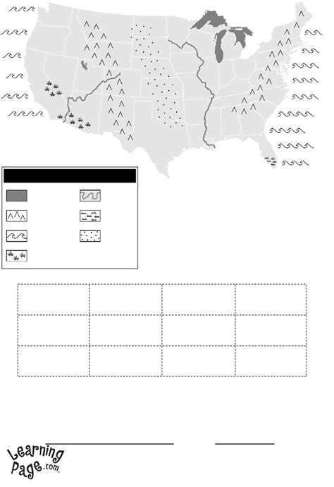printable usa map for kindergarten 14 best images about school geography on pinterest