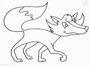fox in socks coloring page fox coloring page