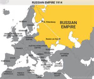 russia map before ww1 russian empire as an autonomous