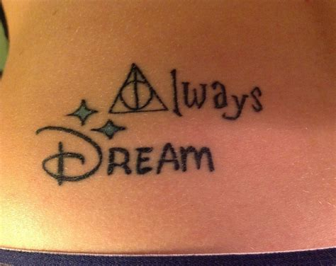 tattoo fonts disney harry potter and disney inspiration