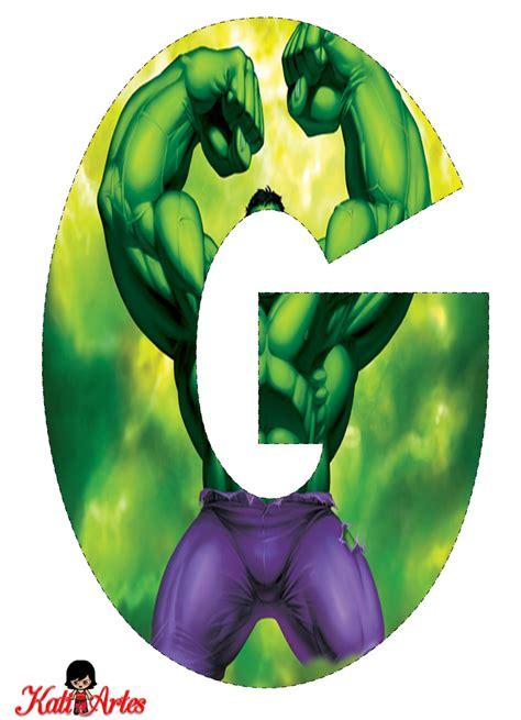 letras decoradas hulk hulk free alphabet alfabeto gratis de hulk ghrayson s