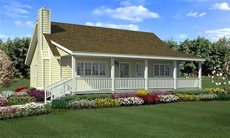 Farmhouse Plans With Porches by Country House Plans With Porches Small Country Farmhouse