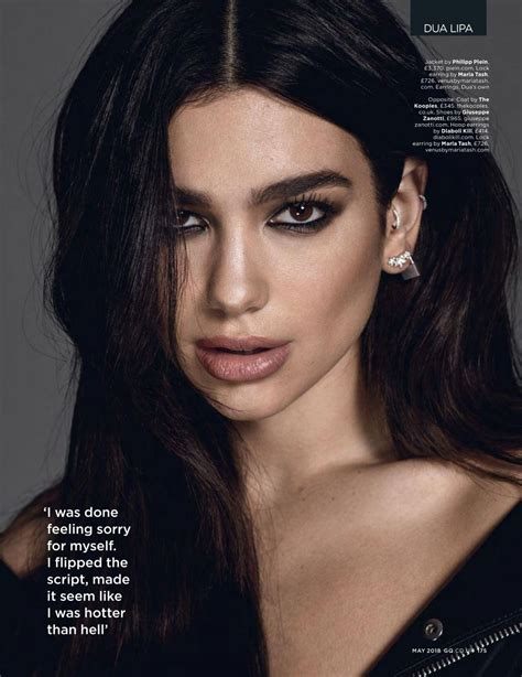 dua lipa kim dua lipa in gq magazine uk april 2018 issue hawtcelebs