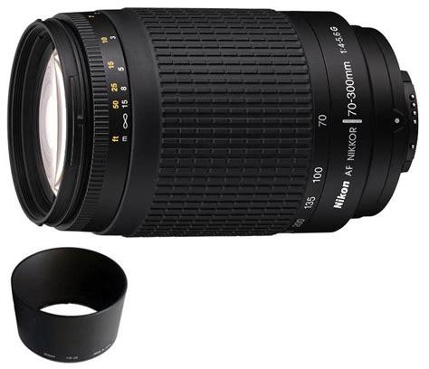 nikon 70 300mm f4 5 6g af lens black colour 1928 163 92 45