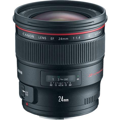 canon ef 24mm f 1 4l ii usm lens 2750b002 b h photo