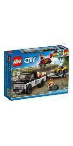lego® city great vehicles dragster transporter 60151 : target