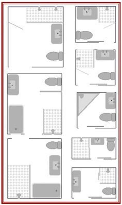 master bathroom floor plans ergonomics pinterest 25 best ideas about bathroom layout on pinterest