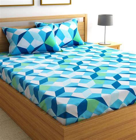 buy bed sheets flipkart smartbuy cotton geometric double bedsheet buy