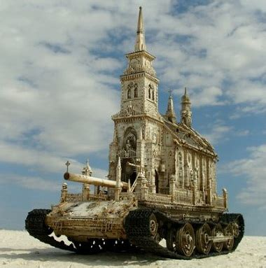 Church Is A Tank by Baha I Quotes Syndication Service