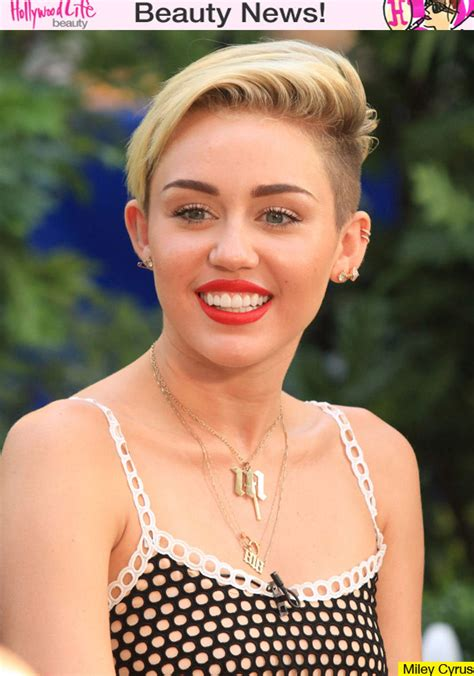 what is the name of miley cryus hair cut miley cyrus haircut it gives her confidence changed
