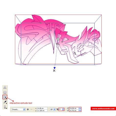 tutorial corel draw graffiti create quick graffiti text effects with coreldraw entheos