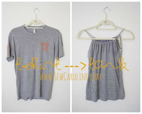 T Shirt 10 Into t shirt into tank top no sew www imgkid the image