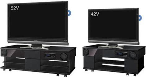 Tv Sharp Juni nya tv rack fr 229 n sharp utrustade med 3 1 ljud feber pryl