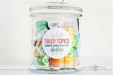 table topics table topics conversation starters for families the