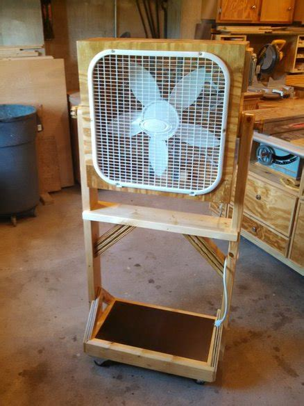 compressed air powered fans shop fan air filter by knightrider lumberjocks com