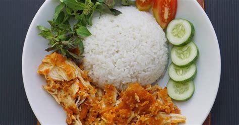 resep ayam geprek sambal bawang enak  sederhana