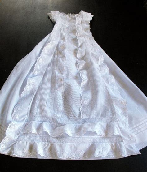 Handmade Christening Gowns - vintage handmade christening gown with