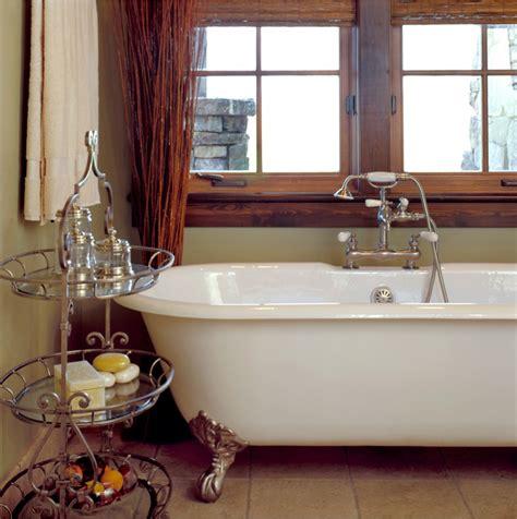 Bathroom Tub Decorating Ideas by Sublime Clawfoot Tub Shower Curtain Decorating Ideas