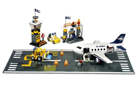 lego airport tutorial 7840 1 airport action set brickset lego set guide and