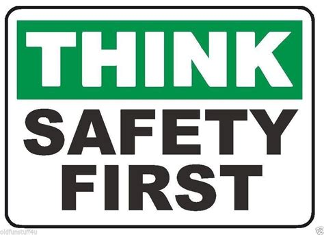 printable osha stickers think safety first sticker osha safety business sign decal