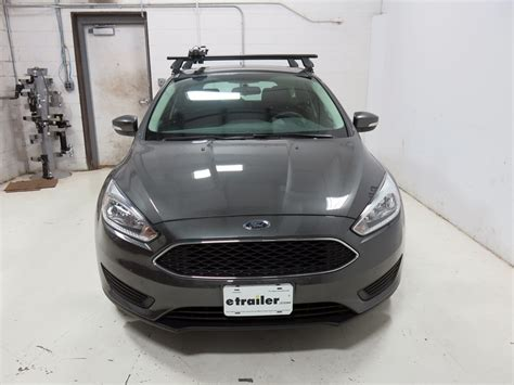 Ford Focus 2013 Roof Rack by Ford Focus Thule Thruride Roof Bike Rack Thru Axle Mount Cl On Or Channel Mounted Aluminum