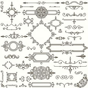 retro design elements vector free victorian vectors photos and psd files free download