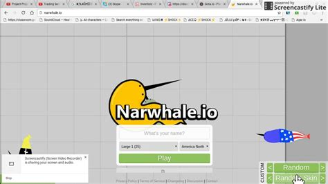 io design narwhale io how to get skins