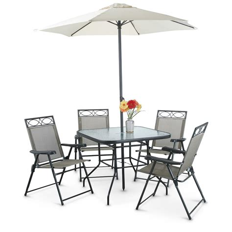 patio set umbrella castlecreek 6 thatched tiki patio umbrella 220961