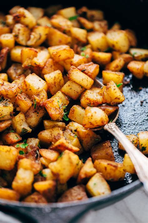 How To Make Fried Potatoes For Breakfast