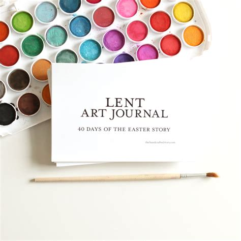 lent journal easter printables crafts easter advent