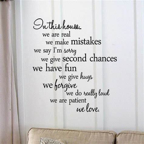 inspirational quotes home decor inspirational quotes wall sticker home decor family quote