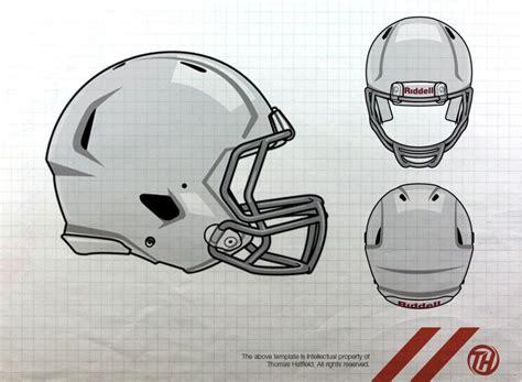 nfl design template football helmet template cliparts co