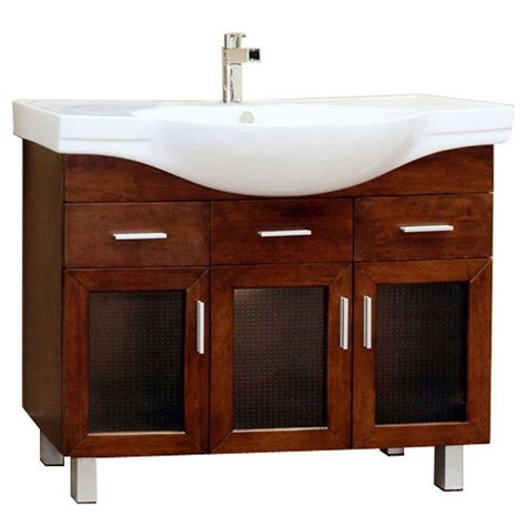 Modern Single Bathroom Vanity by Modern Single Sink Vanity Cabinet In Bathroom Vanities