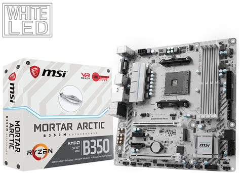 Ready Msi B350 Tomahawk Arctic msi also unveils the b350 tomahawk arctic and b350m mortar arctic motherboards techpowerup forums