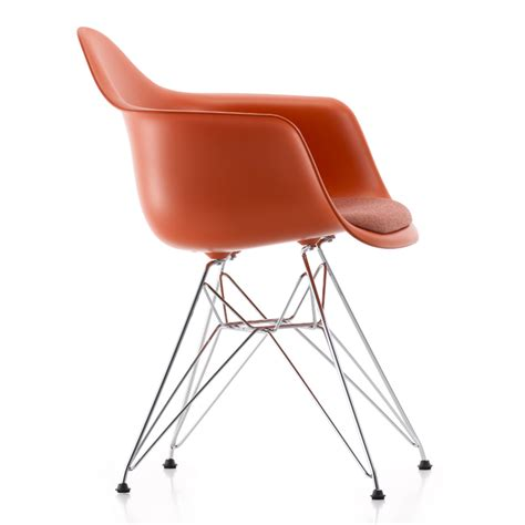 Chair Seat Upholstery by Vitra Eames Dar Chair With Fabric F60 Seat Upholstery