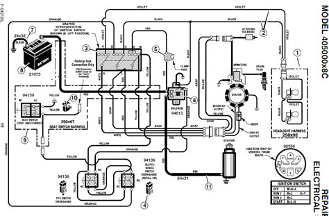 murray lawn tractor solenoid wiring diagram murray free