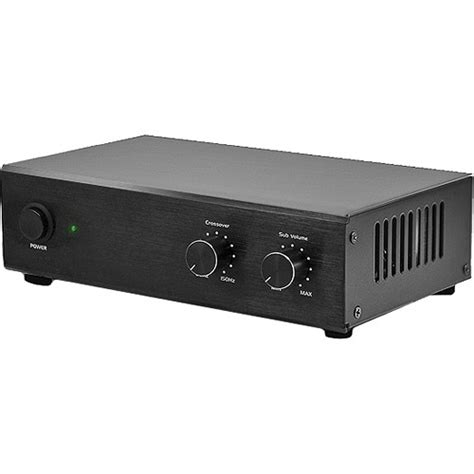 osd audio smp60 mono subwoofer lifier b h photo