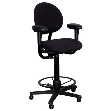 Steelcase Stools by Steelcase Used Criterion Series Stool Black National