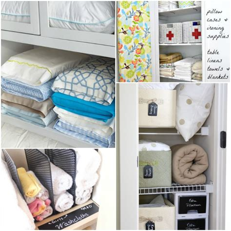 Closet Organization Supplies by 13 Brilliant Linen Closet Organization Ideas