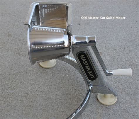 Crank Salad Maker Fashioned Heavy Duty Stainless