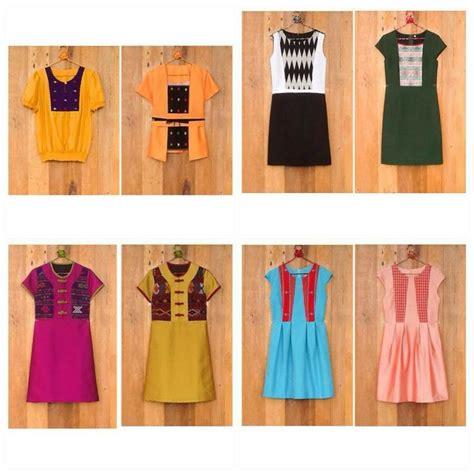 Ayumi Tunic Dress batik gaya clothes