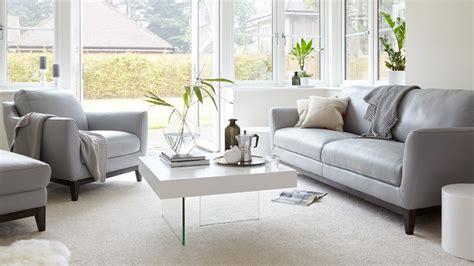 grey three seater sofa 3 seater leather sofa living room furniture uk