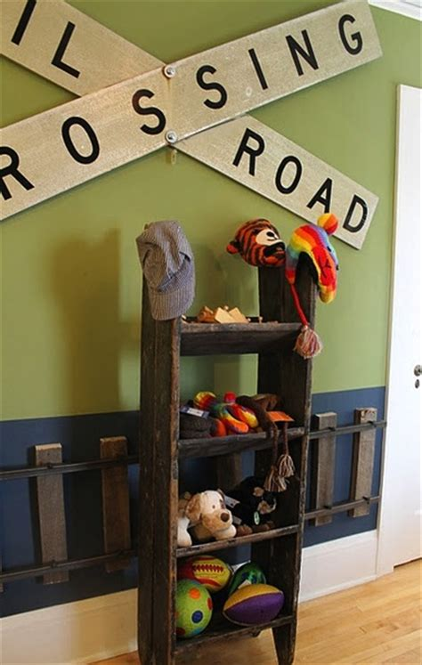 train themed bedroom ideas trendy woodwork on kids room walls kidspace interiors